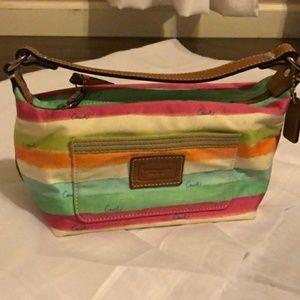 Rainbow Coach bag